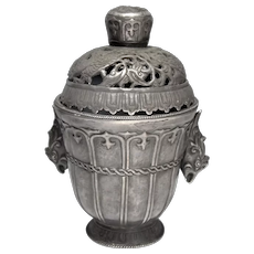 Tang Dynasty Lidded Vessel Cup Phoenix Pure Silver Ancient Vessel Chinese Artifacts Chinese Art Ancient China Asian Art Artifacts