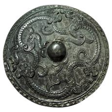 Ancient Bronze Mirror Warring States Period 476 BC – 221 BC Dragons Mythological Beasts Ancient Artifacts Chinese Antiques Antiquities