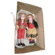Rare doll couple Steiner Size 1