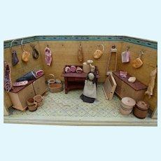 Miniature butcher shop