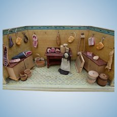 Miniature butcher shop