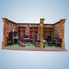 Late 19th century doll's house