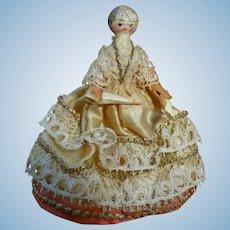 Little Grodnertal doll all articulated.