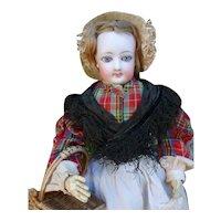 Parisienne  doll FG in original condition.