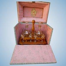 Miniature liqueur cellar