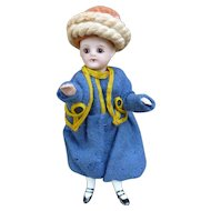 French Mignonnette dressed in zouave