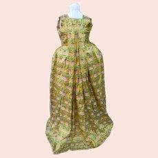French-style dress, eighteenth century