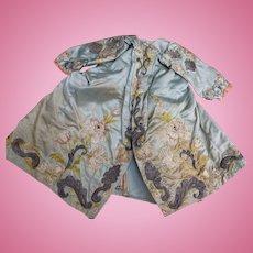 Rare doll dress age 18 th century