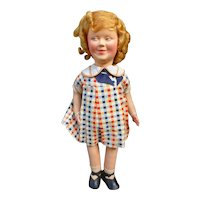 Rare Shirley Temple doll by RAYNAL
