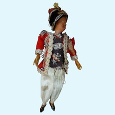 Miniature doll late eighteenth century