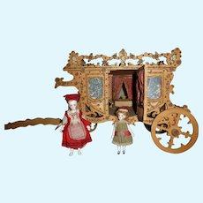 Louis Badeuille: Rare carriage for mignonnette
