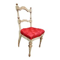 Parisian doll chair circa 1860