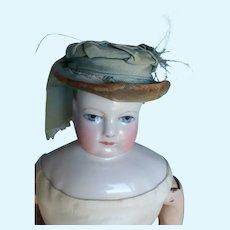 Silk hat for fashion doll size 4 Huret, Rohmer.