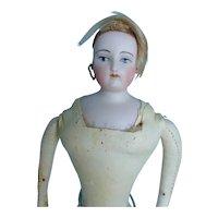Small fashion doll circa 1860