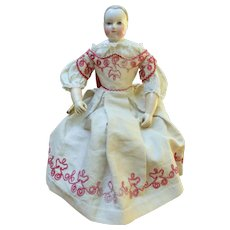 Mlle  BEREUX: Outfit for HURET doll.