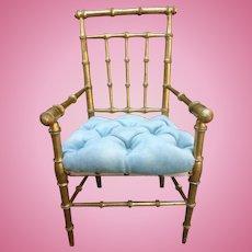 Bamboo doll armchair