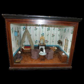 Diorama beginning of the 19th century