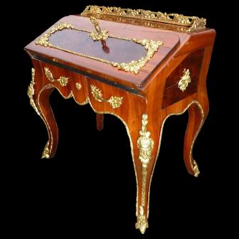 Very rare miniature office of the house GIROUX