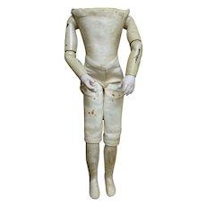 Parisian doll body of Emmanuel Marie CRUCHET.