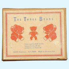 MATRIX STOCKING STUFFER !!    The Three Bears - Mint in Box from East Germany