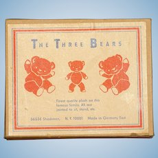 MATRIX STOCKING STUFFER !!    The Three Bears - Mint in Box from East Germany