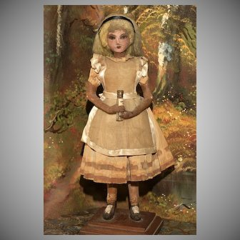 Rare and Early - one of a kind -  'ALICE IN WONDERLAND'  Art Doll