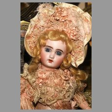 """A RARE EXAMPLE of Frederic Remignard - a 15"""" tall """" LE PETIT CHERUBIN """" in Remignard COUTURE; with Original Box and Provenance."""