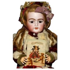 A Matrix STOCKING STUFFER!    Rare Antique Penny Postcard - A 'Doll' and Two Bears…at CHRISTMAS.!