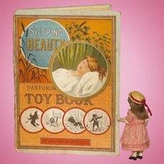 A Rare 1880's McLaughlin 'Sleeping Beauty' Pantomime Book