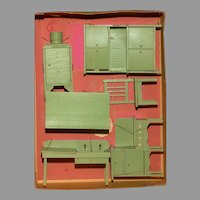 MINT Six Piece KITCHEN SET for DOLLS in the Original Box