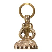 Victorian Lyre Fob