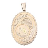 Antique Victorian Aesthetic Silver Locket