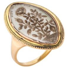 Antique Georgian Memorial Ring for a Child