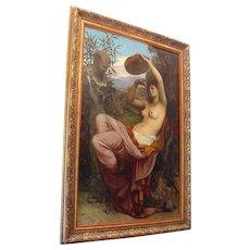 French Mythological Nude Camille F.Bellanger