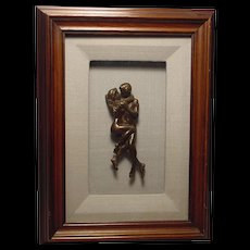 Rare Antique Bergman Vienna Bronze Lovers