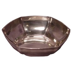 Antique Marked Tiffany & Co 18165-6009 Sterling Silver Bowl