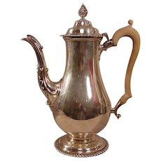 Elizabeth II Sterling Silver Coffee Pot Goldsmiths & Silversmiths CO Limited
