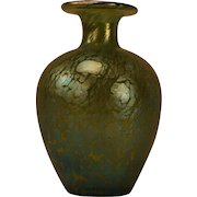 Superb Loetz Blue & Green Iridescent Cabinet Vase