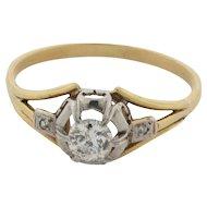 Art Deco Diamonds 18K Gold Ring