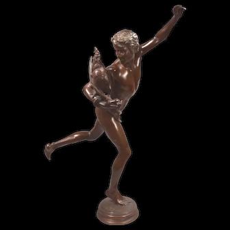 Falguière Jean Alexandre Joseph Le vainqueur du combat de coqFalguière Jean Alexandre Joseph Le vainqueur du combat de coq