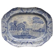 A Spode Castle Pattern Platter