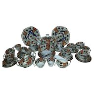 An Early 19th Century Spode Part Tea Service, Pattern 2213
