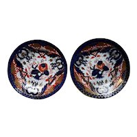 A Pair of Coalport King's Pattern Plates