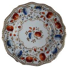 Davenport 19th Century  Porcelain Dinner Plate