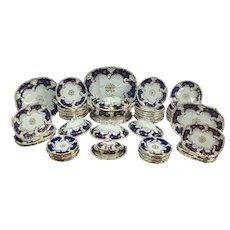 Davenport 19th Century  Porcelain Dinner Service,