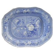 Spode Botanical Series Pattern Tree and Well Platter