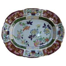 An Ashworth's Ironstone China Platter