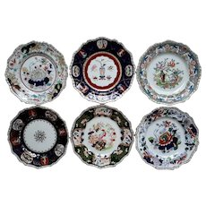 A Collection of Six Mason's (Ashworth's) Decorative Large Plates