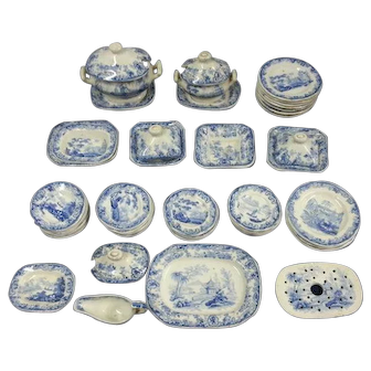 A Children's Transfer Printed Toy Dinner Service