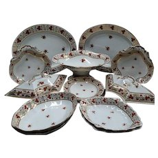 A Part Derby Dessert Service, Early 19th Century